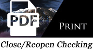 Close/Reopen Checking PDF