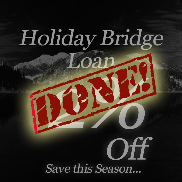 2% Off Holiday Loan